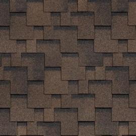 Черепица Shinglas Финская Аккорд коричневый