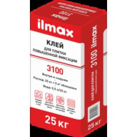 Клей для плитки повышенной фиксации ilmax 3100 (25кг)