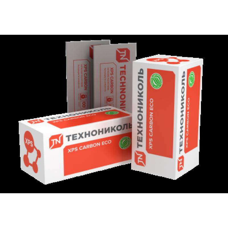 Экструзионный пенополистирол ТЕХНОНИКОЛЬ XPS CARBON ECO 40мм