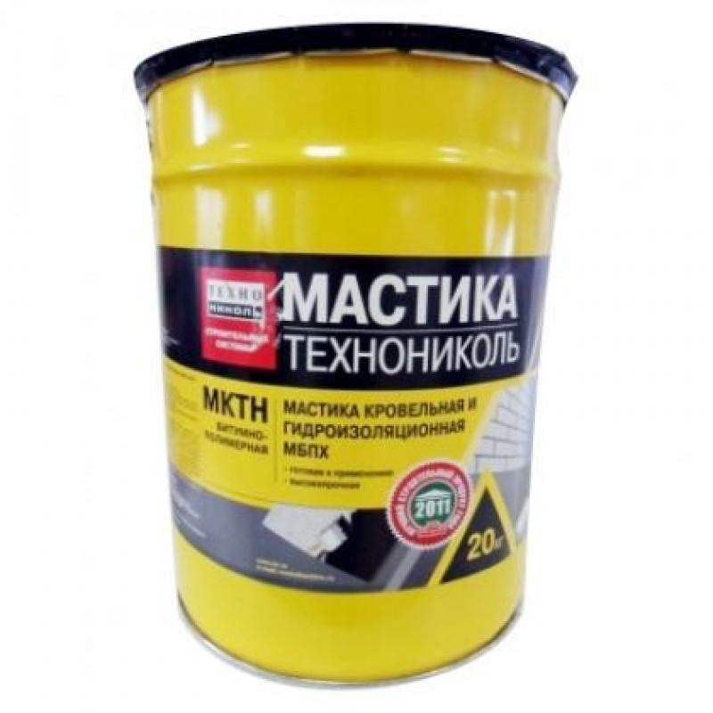 Мастика кровельная Технониколь (МКТН) 50кг