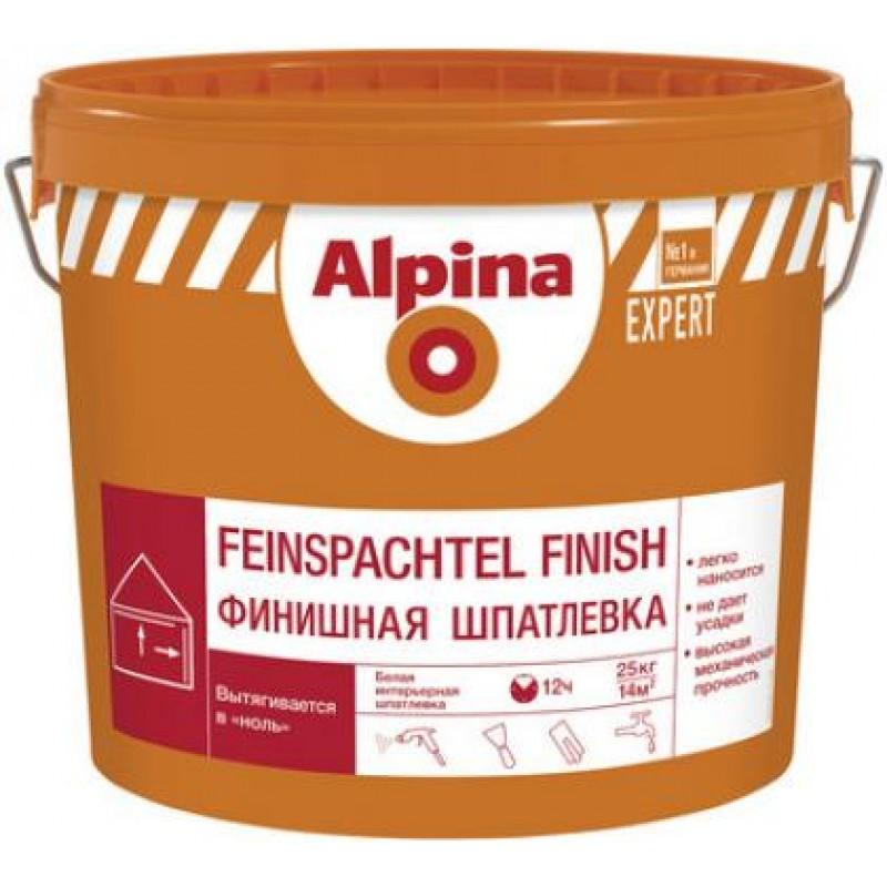 Alpina EXPERT Финишная шпатлевка 25кг